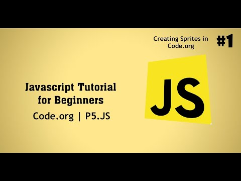 Javascript For Beginners | Code.org | P5.js | Introduction To Javascript