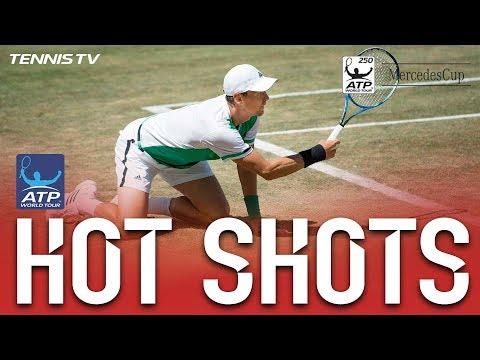 Berdych Hands Down Hot Shot At Stuttgart 2017