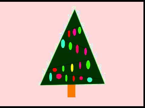 Adobe Flash Animation | Christmas Tree