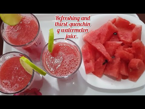 8 Thirst Quenching Watermelon Recipes