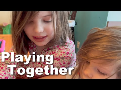 Autism and Play| Building Flowers