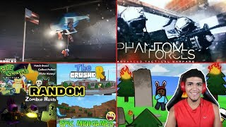 Roblox l 🔴LIVESTREAM!! l Playing Random Games with Fans #207