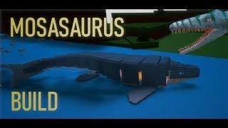 *Fou* Mosasaurus Mech! (Mouvements, Combats)   Roblox Construire un Bateau