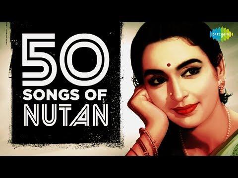 50 Songs Of Nutan | नुतन के 50 गाने | HD Songs | One Stop Jukebox
