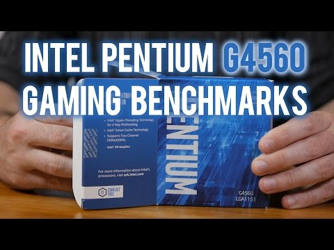 Pentium G4560: The Ultimate Gaming Benchmark Guide