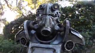 FALLOUT 3 Cosplay: T-45D POWER ARMOR Preview