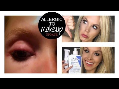 UPDATE: I'm Allergic to Makeup | Lash Glue