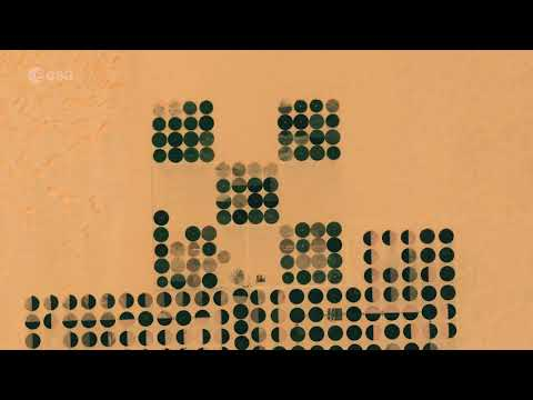 Watch Egyptian Crop Circles Form in Time-Lapse from Space
