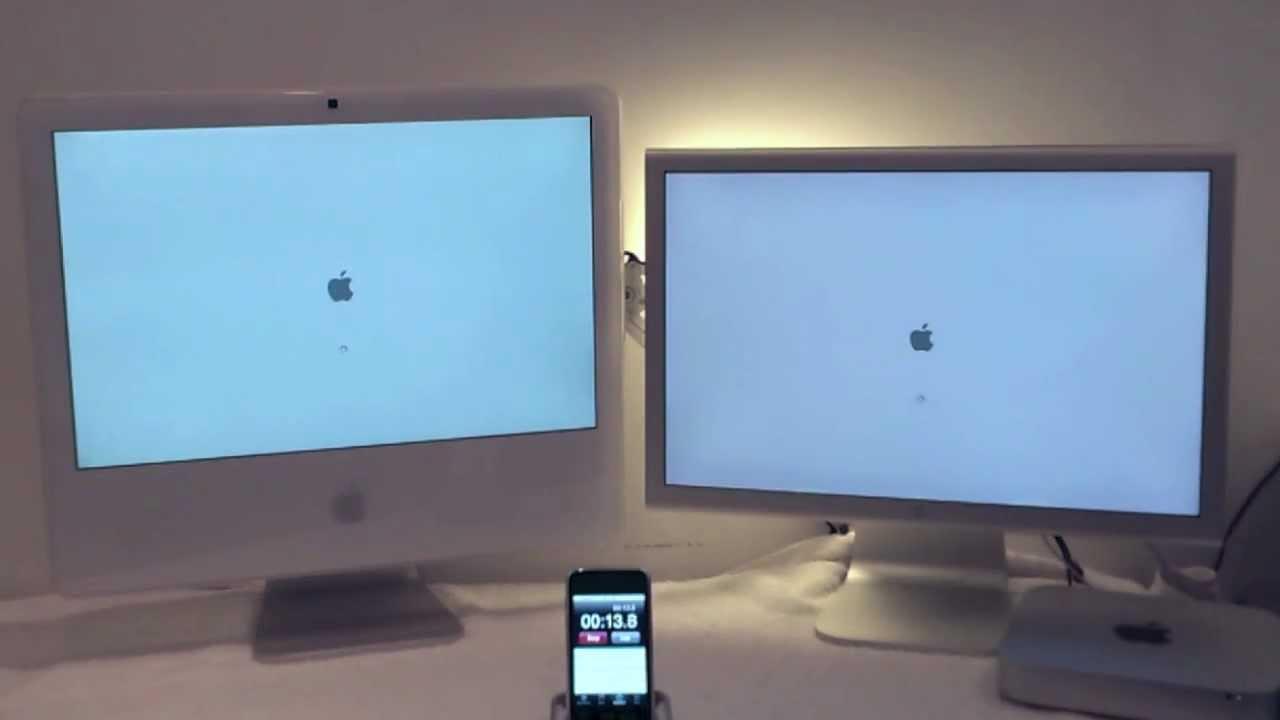 Imac 2006 Vs Mac Mini 2012 Seagate Momentus Xt 500gb Ssd