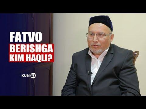 FATVO SO'RASH VA UNING ODOBLARI HAQIDA HOMIDJON ISHMATBEKOV BILAN SUHBAT