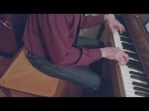 """Never Never Land"" - (Jule Styne) Piano Cover By Paul Batchelor"