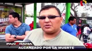 Alcanzado por la muerte: fatalidad en video en Miraflores (1/2)