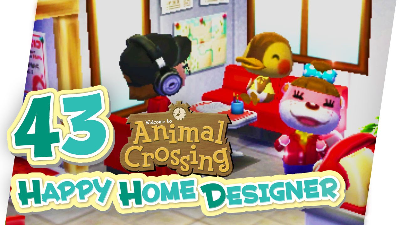 Monikas indiemagazin animal crossing happy home for 7 11 happy home designer