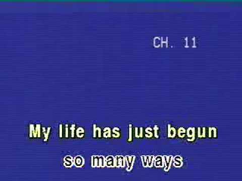 Karaoke Michael Bolton Said I love you but I lied