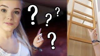 Wohin führt die LEITER in meinem Zimmer? ⎜Vlogmas #2🎅🏼