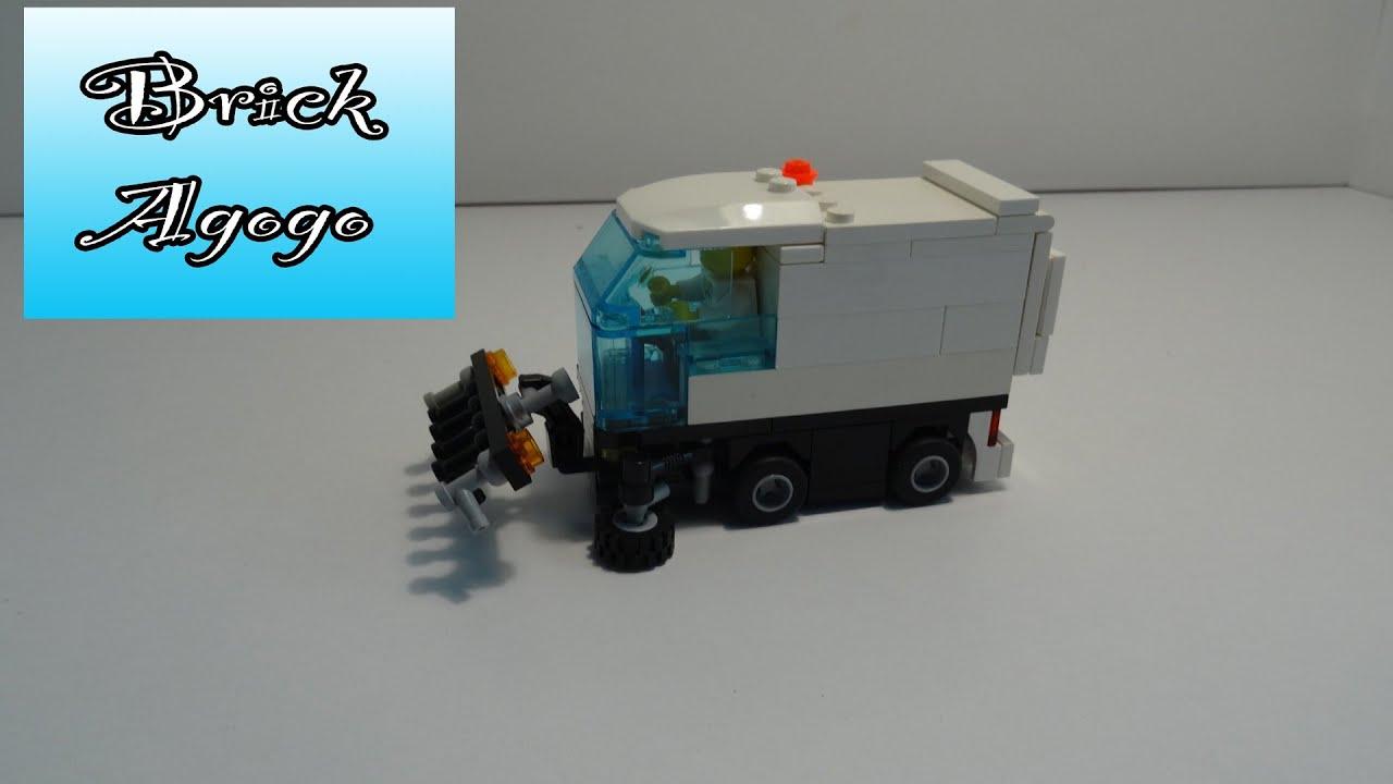Lego Street Sweeper - Custom Moc
