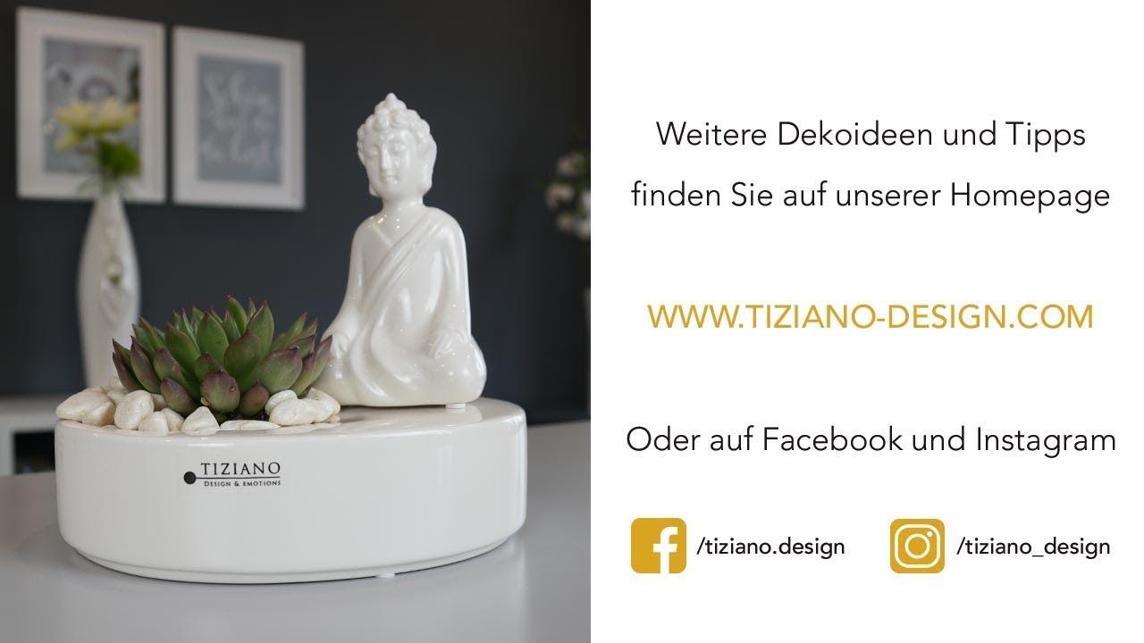 Buddha Deko selber machen Tiziano DIY Video