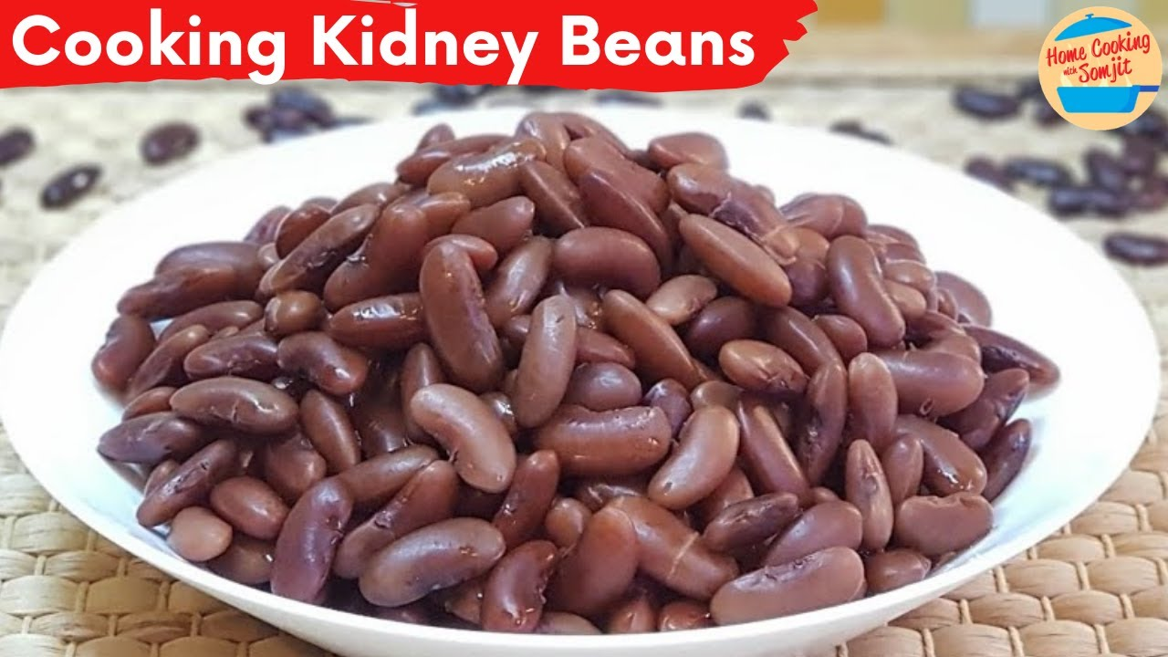 Cooking Kidney Beans Without Soaking Youtube