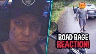 Monte wird sauer! 😂 Reaktion auf dumme Mopedfahrer 🤔 MontanaBlack Reaktion