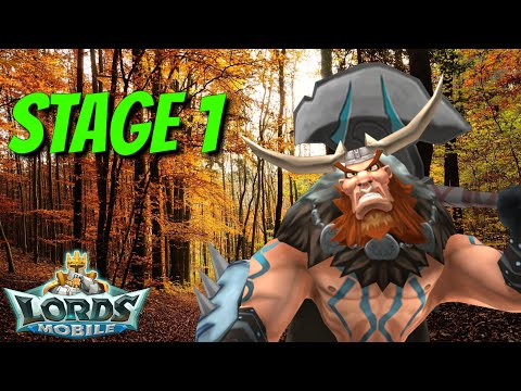 Limited Challenge Stage 1 Barbarian - Lords Mobile