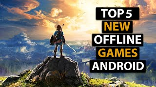 Top 5 OFFLINE Games For Android | 2019 High Graphics | New Offline Games For Android | Part 2