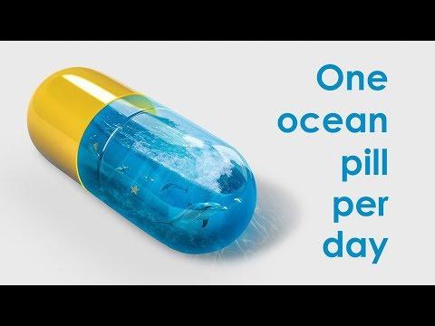 Ocean Pill Photo Manipulation Tutorial