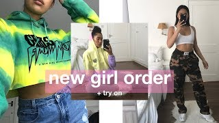 NEW GIRL ORDER | Try On + How I Style