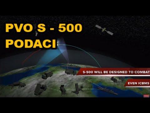 RUSKI PVO S 500 -  PODACI