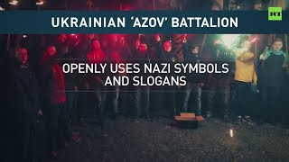 Azov Battalion Us Congress Urges State Department To Put Ukraine's National Guard To Terrorist List