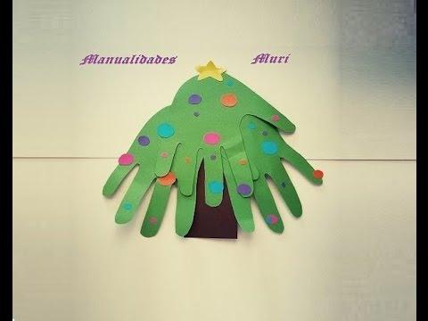 Manualidades rbol de navidad de papel muy f cil para - Manualidades infantiles para navidad ...