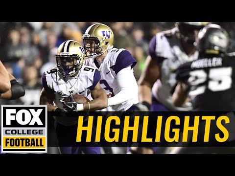 Washington vs Colorado   HIGHLIGHTS   FOX COLLEGE FOOTBALL