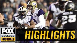 Washington vs Colorado | HIGHLIGHTS | FOX COLLEGE FOOTBALL