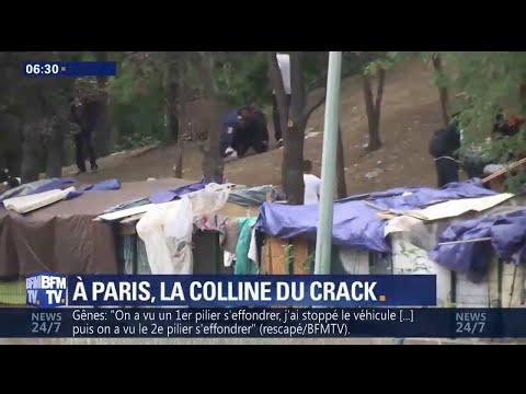 """Drogue, prostitution, mendicité... Le ras-le-bol des riverains de la """"colline du crack"""" à Paris"""