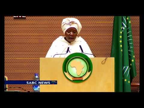 Nkosazana Dlamini-Zuma address: 26th AU Summit