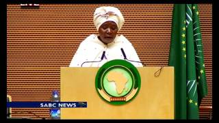nkosazana dlamini zuma address 26th au summit