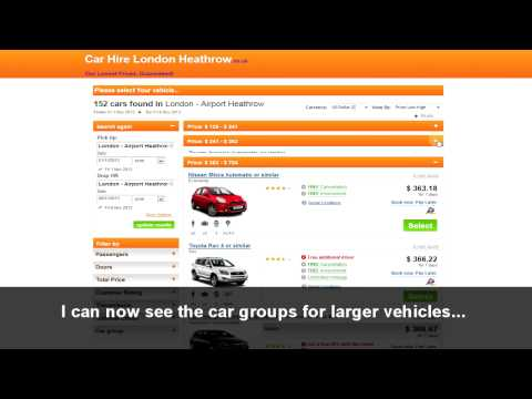How To Hire A Car At London Heathrow Airport