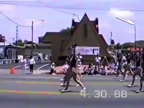 Hart High School 1988 Maytime Band Review National City, CA