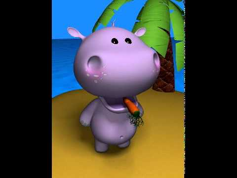Talking Baby Hippo farts !