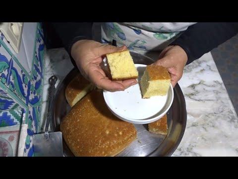 هشوش-ألذ-و-أخف-كيكة-تذوب-في-الفم-سريعه-وسهله@المطبخ-التونسي-زكية---tunisian-cuisine-zakia