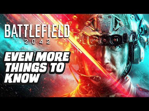 Battlefield 2042 - Even More Things To Know - GameSpot