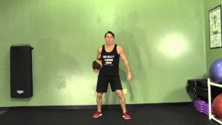 Medicine Ball Chest Pass - Hasfit Medicine Ball Exercises - Medicine Ball Exercise