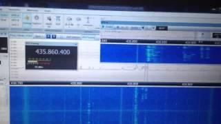 FO-29 Satellite signals - Funcube Pro + SDR