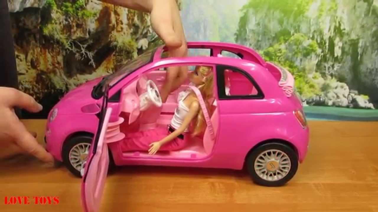 barbie fiat vehicle mattel y6857 youtube. Black Bedroom Furniture Sets. Home Design Ideas