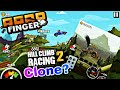 Road Finger - Hill Climb Racing 2 Clone! Android Gameplay by BKing