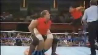 pcouniverse.com - PCO Pierre Carl Ouellet Quebecers vs Mike Khoury & Aaron Ferguson(WWF)