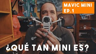 Mavic Mini Unboxing - ¿Qué tan mini es? Español.