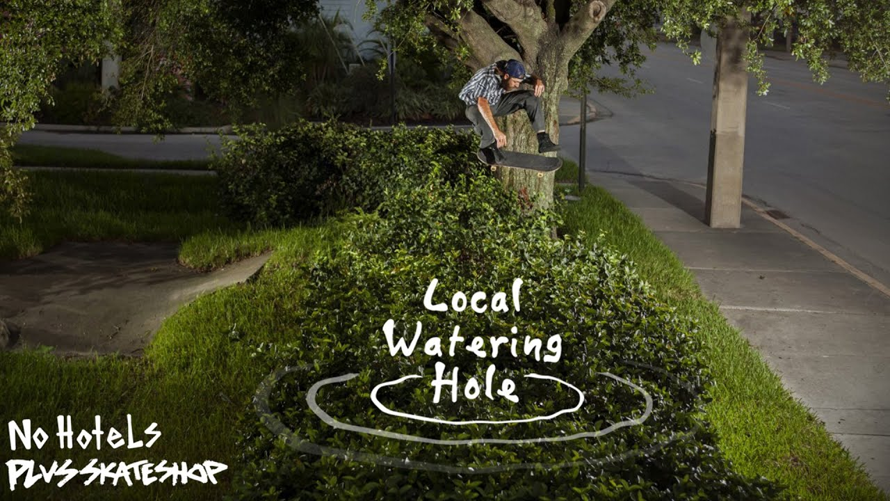 No Hotels x Plus Skateshop Local Watering Hole Video