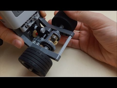Compact LEGO® Limited Slip Differential idea
