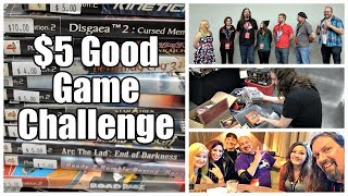 $5 Good Game Challenge - Metal Jesus Crew game hunts at Portland Expo!
