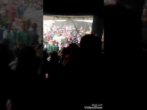 kepanikan pedagang saat kebakaran di Pasar Citayam Depok, Minggu 19/11/17 sore